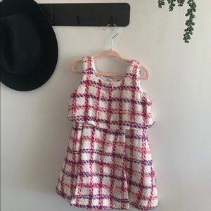 Bouclé Quilted Dress